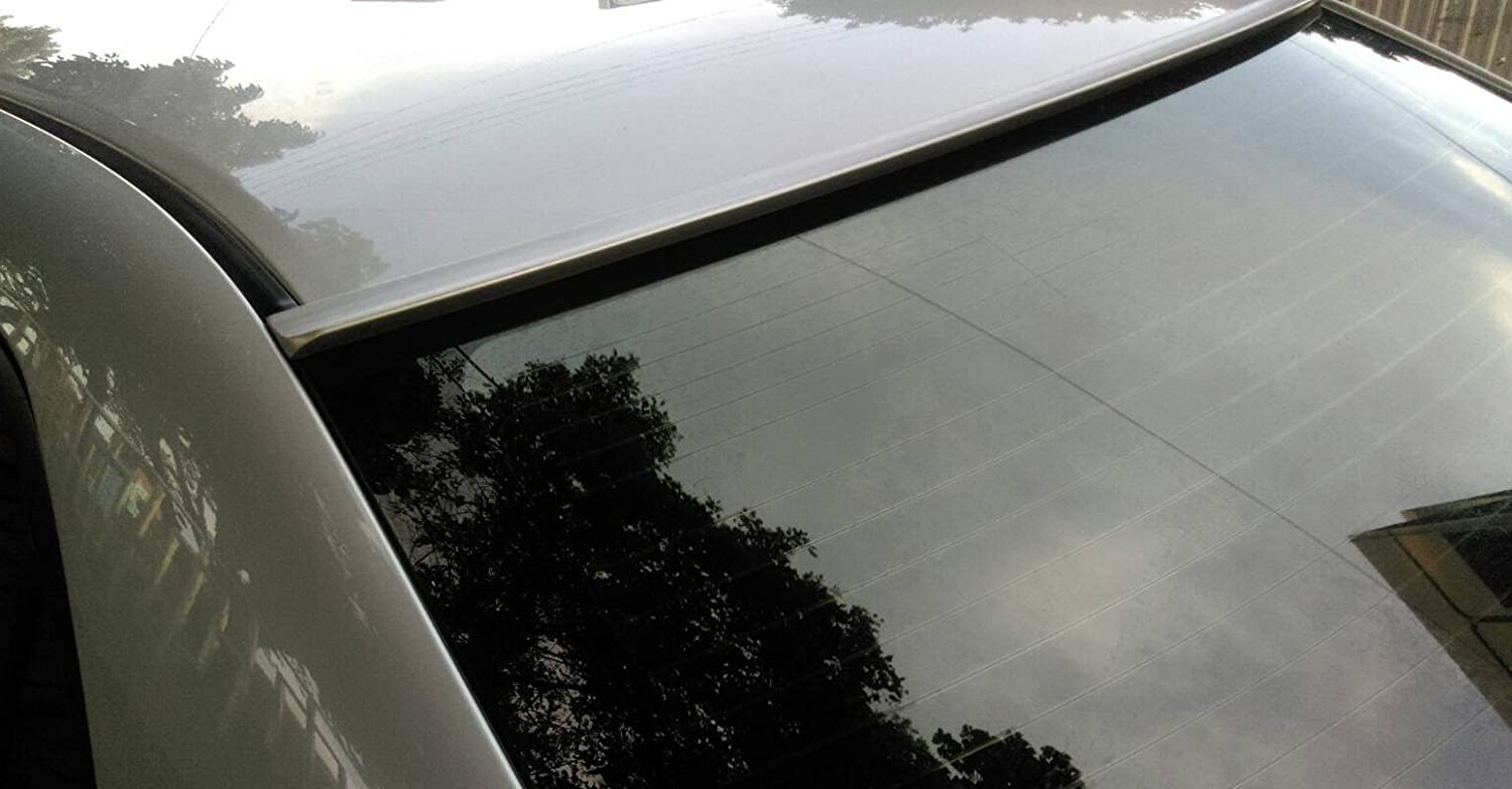 JR2 Painted Silver Color for 2003 2004 2005 2006 2007 2008 2009 2010 Chrysler 300C Rear Window Roof Spoiler