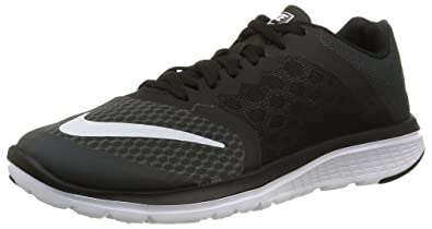 pretty nice 21728 f3318 Nike Women s Fs Lite Run 3 Anthracite White Black69.90 Running Shoe 6