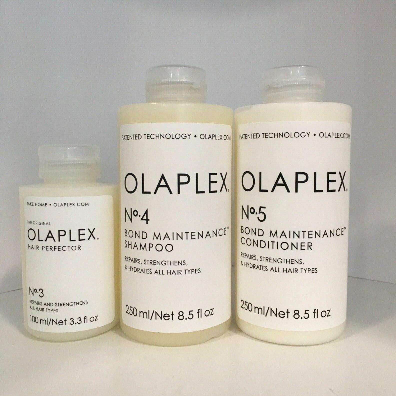 Perfector No.3, Shampoo No.4 & Conditioner No.5 +PROFESSIONAL TWEEZER*