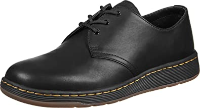 Dr. Martens Cavendish, Derbys Mixte Adulte, Noir (Black Temperley 001), 40 EU