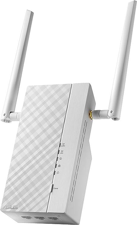 ASUS PL-AC56 - Kit Extensor de Red por línea eléctrica AV2 1200Mbps Gigabit (Wi-Fi AC1200, 3 Puertos Gigabit, Antenas externas): Asustek: Amazon.es: Informática