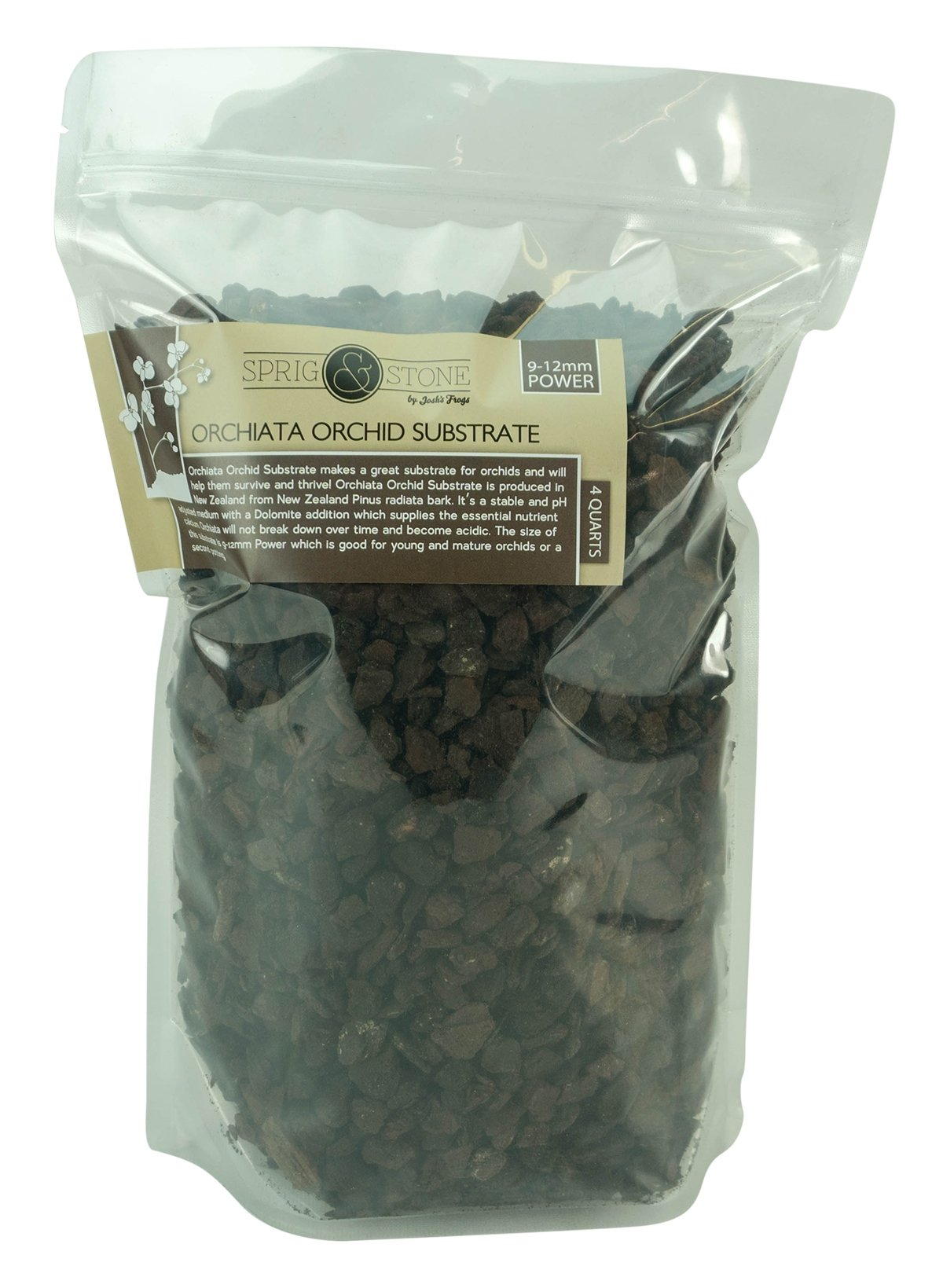 Orchiata Orchid Substrate - 9-12mm POWER (4 Quart)