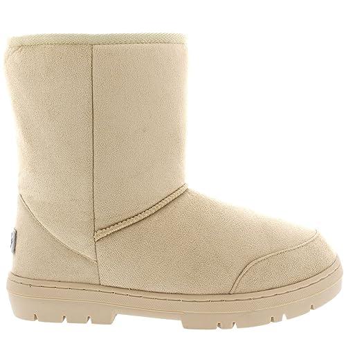 cf47395a1 Mujer Original Short Classic Fur Lined Impermeable Invierno Rain Nieve Botas   Amazon.es  Zapatos y complementos