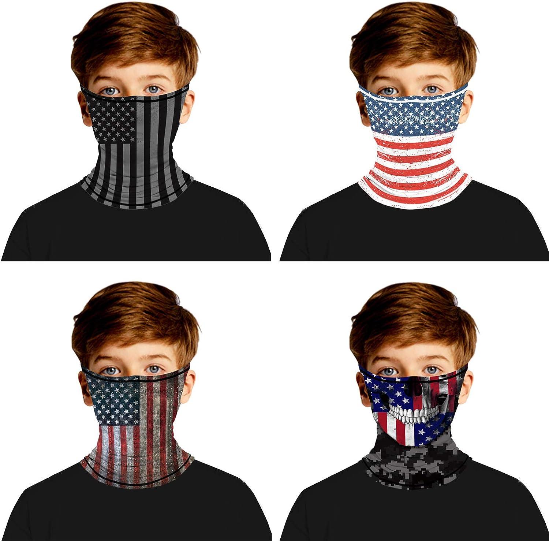 Unisex Bandana Rave Face Mask Multifunction Scarf Anti Dusk Neck Gaiter Face Cover UV Protection