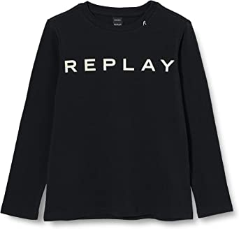REPLAY Camisa Manga Larga para Niñas: Amazon.es: Ropa y accesorios
