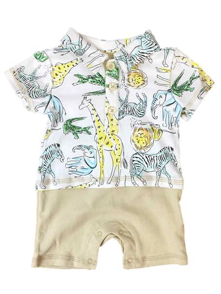 Amazon.com: Body para bebé, diseño de animales, elefante de ...