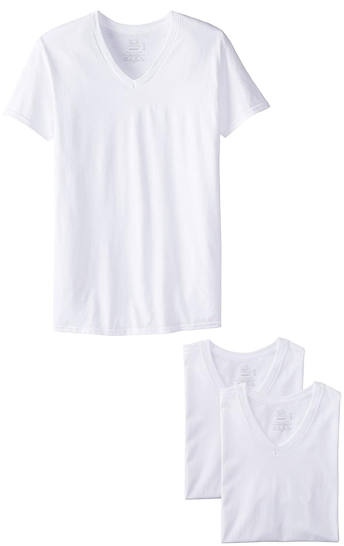 Fruit of the Loom Men'sV-Neck T-Shirt(Pack of 3) 2626V