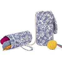 Luxja Yarn Storage Bag, Portable Knitting Bag
