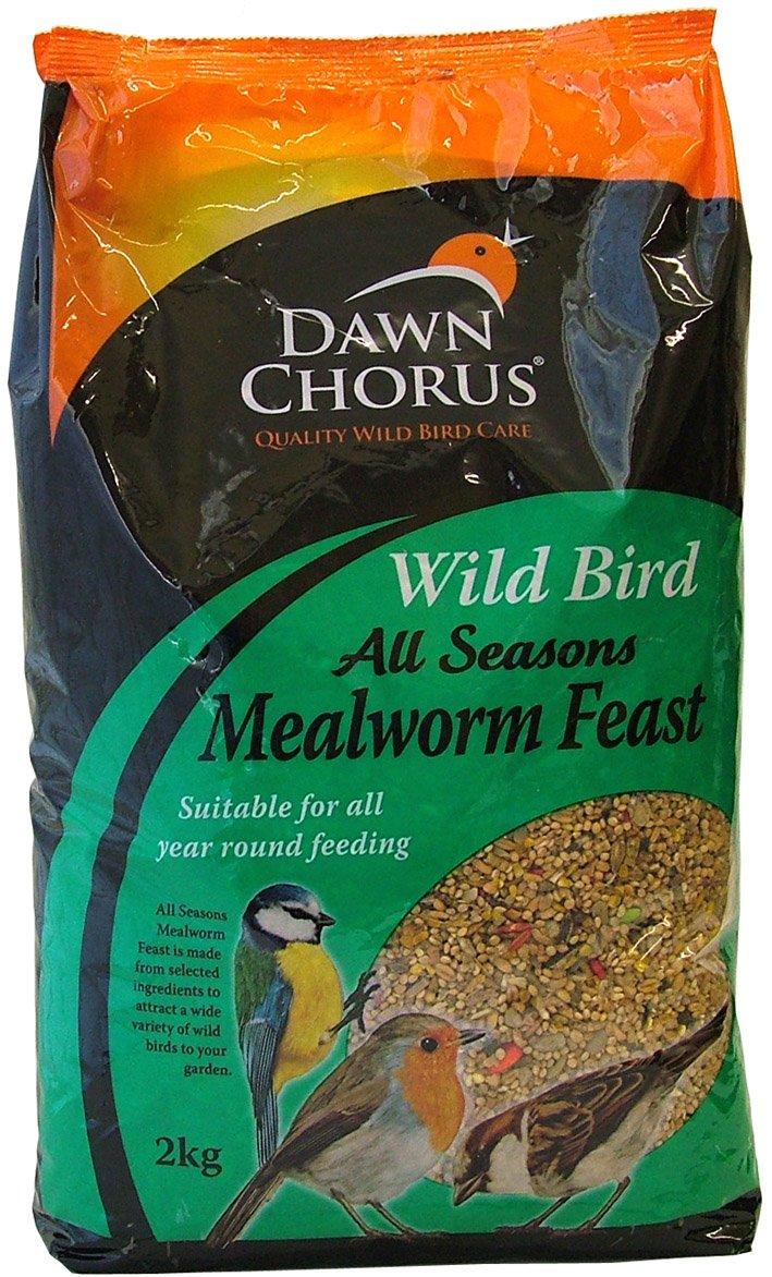 2kg Dawn Chorus All Seasons Mealworm Feast Seed Mix Twootz