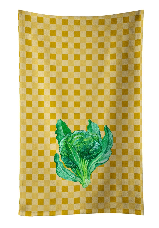 25Hx15W Carolines Treasures BB7191KTWL Cayenne Pepper on Basketweave Decorated dish towel Multicolor
