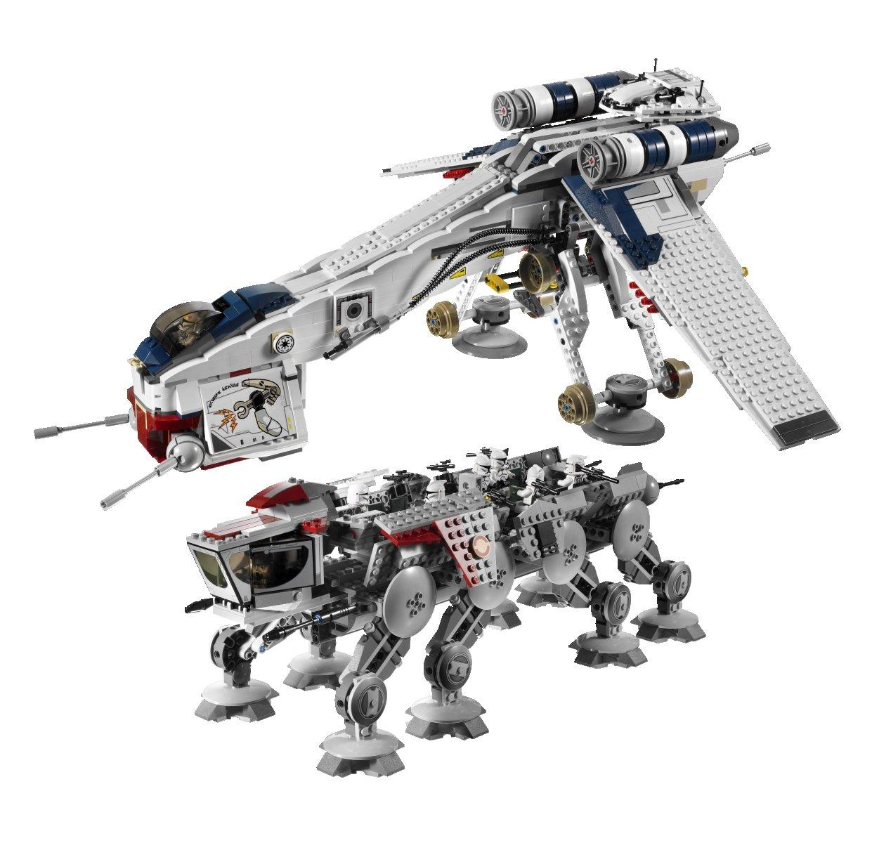 Amazon Lego Star Wars Republic Dropship With At Ot Walker