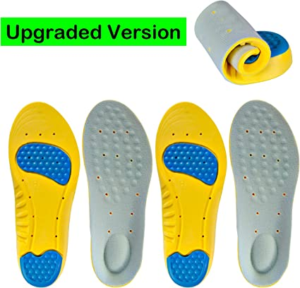 Click Footwear Thermal Shock Absorbing Foams Insole For MENS All Sizes