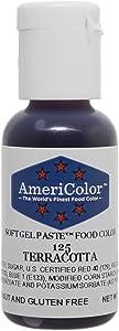 Americolor Soft Gel Paste Food Color.75-Ounce, Terracotta