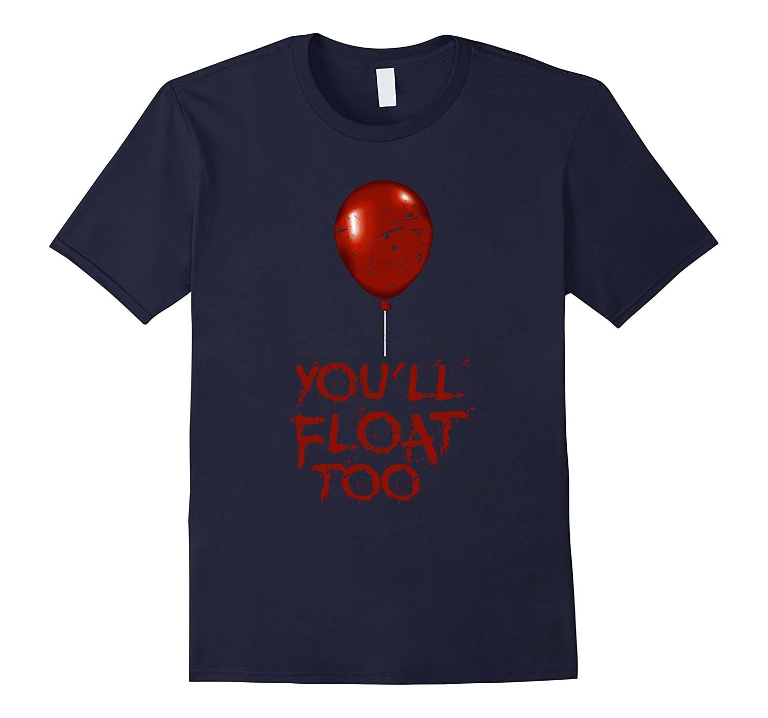 Scary Red Balloon Float Creepy Halloween Shirt Horror Gift-FL