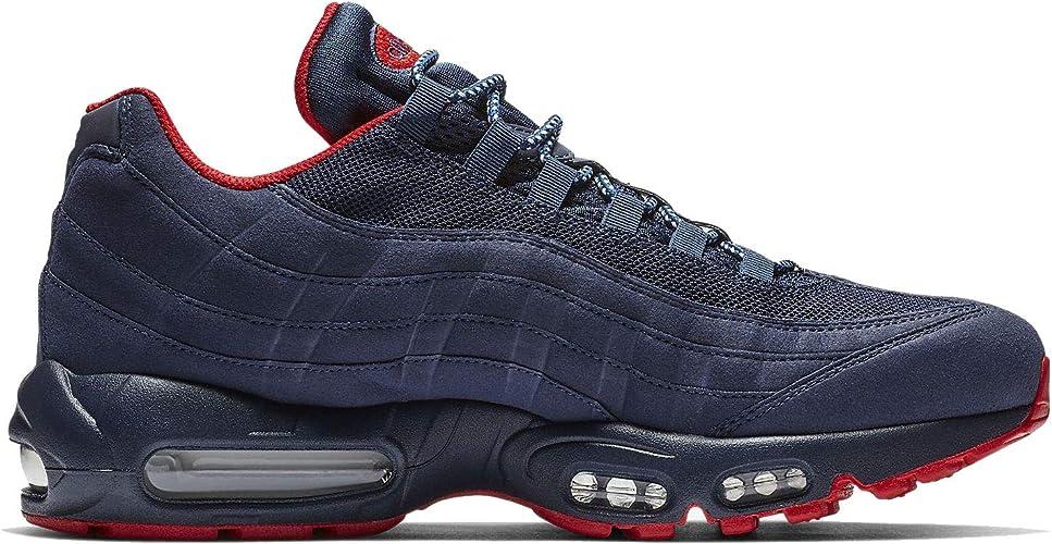 Amazon.com: Nike Air Max 95 PRM Midnight Navy/University ...