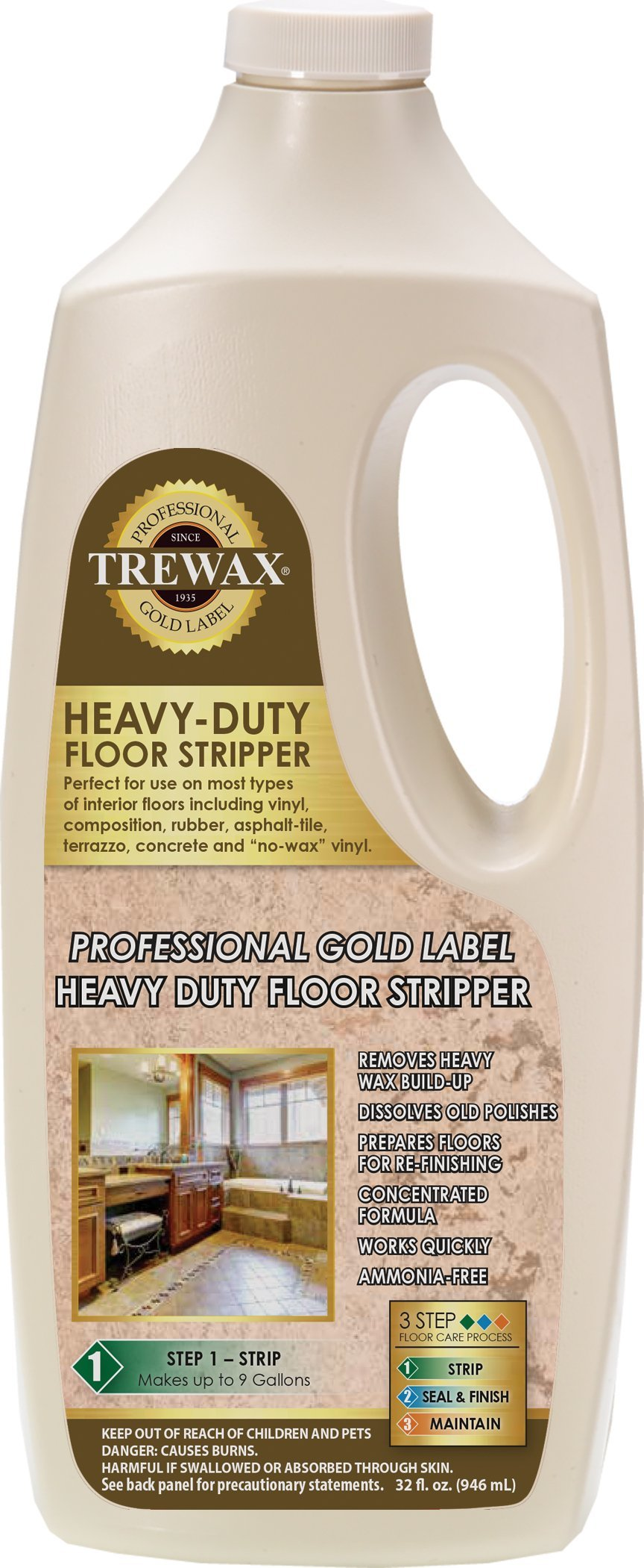 Amazon Trewax Instant Wax Remover 32 Ounce 887045027 Home