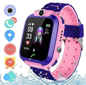 Zeerkeer Reloj Inteligente para niños,S12 Smart Watch Telefono ...