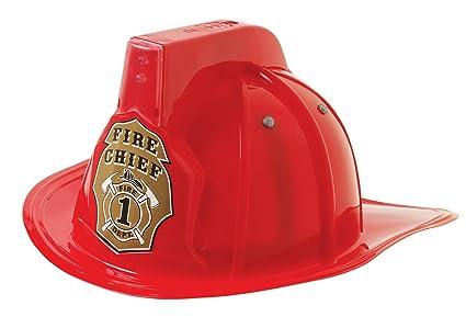 amazon com mizzuco imaginary play fireman helmet w siren led