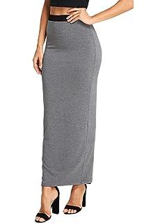 b7a837eccd Stretch is Comfort Women's Long Tube Skirt at Amazon Women's ...