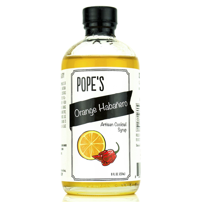 Pope's Orange Habanero Syrup