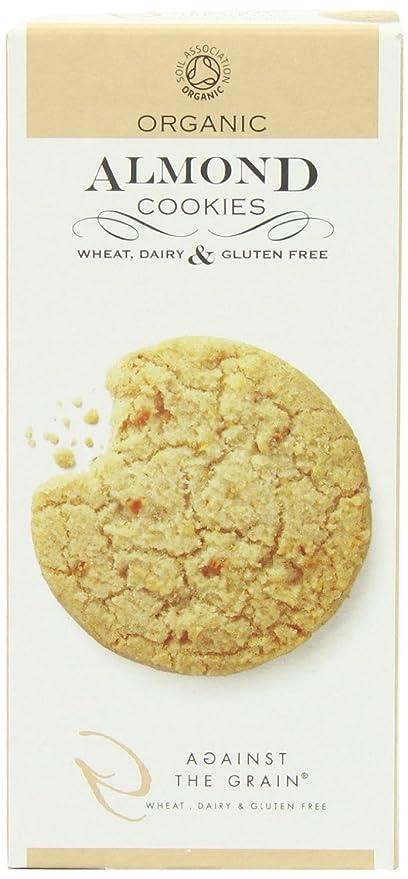 (Paquete de 12 galletas de almendras orgánicas en inglés