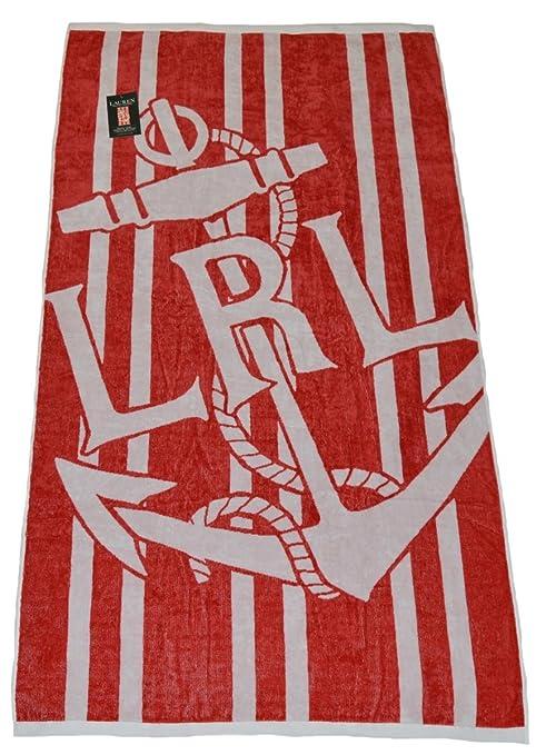 Ralph Lauren Polo Toalla de Playa: Amazon.es: Hogar