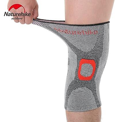 Sin soldadura de alta elasticidad rodilleras – negro + gris ...