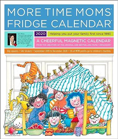 Amazon.com: More Time Moms 2020 - Calendario de 16 meses de ...