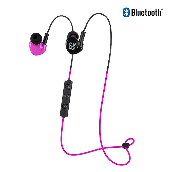 CYLO Endurance Wireless Bluetooth 4.0 In-Ear, Over-Ear Earbuds/Earphones/