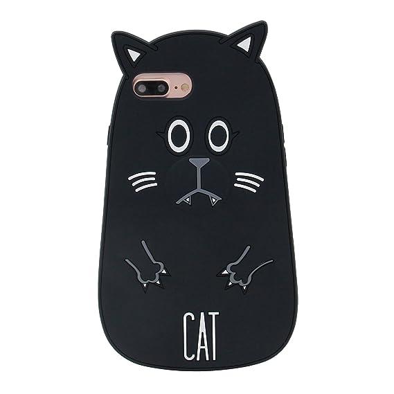 Amazon Com Iphone 7 Plus Case Mc Fashion Cute 3d Animals Silicone