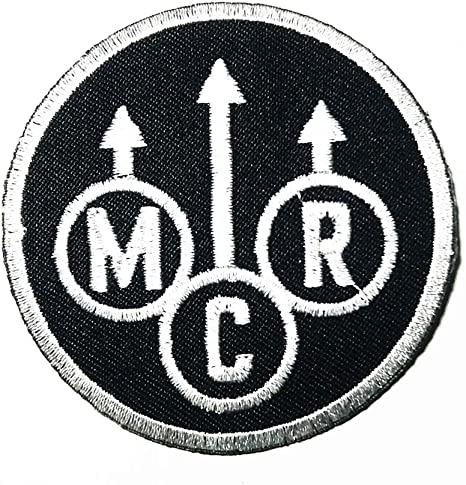 Music B American Punk Rock Post-Hardcore Hardcore Punk Band Music Patch Embroidered Sew Iron On Patches Badge Bags Hat Jeans Shoes T-Shirt Applique