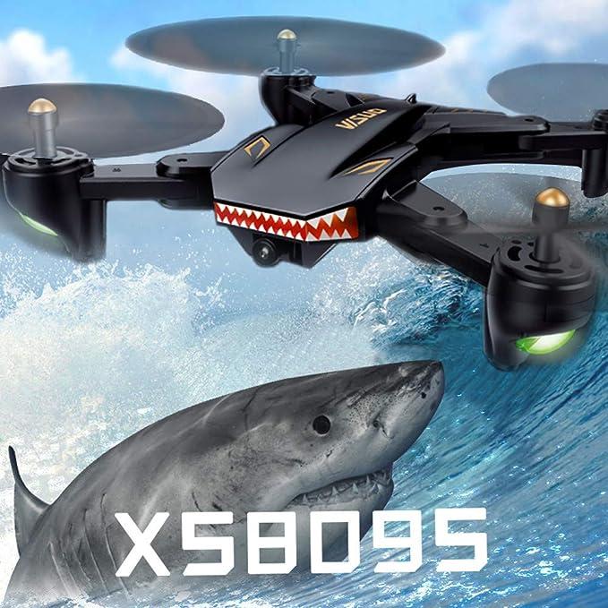 Webla Avión de aviones de cuatro ejes XS809S (lente de flujo ...