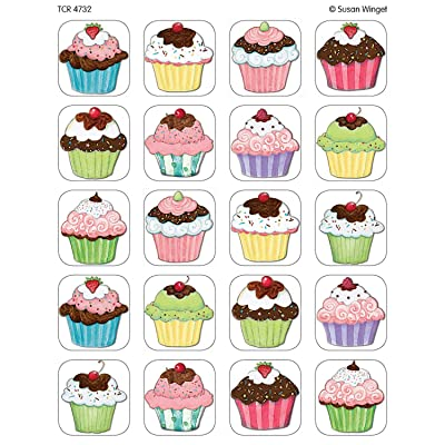 Teacher Created Resources SW Cupcakes Stickers, Multi Color (4732): Office Products
