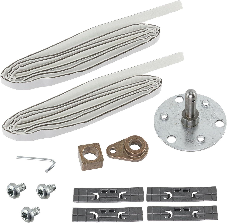 Indesit auténtica para secadora de tambor para lavadoras para reparación de rodamiento de (13 piezas)