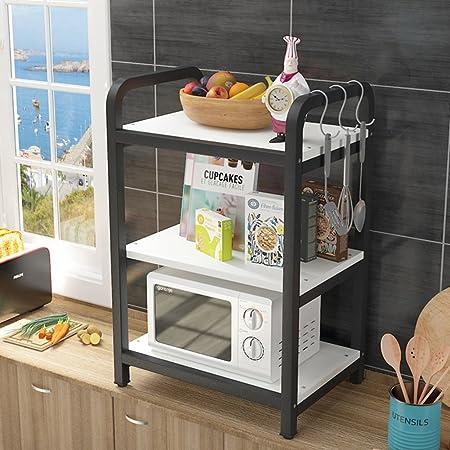 LXF Soporte microondas Estante de Cocina, Horno de microondas ...
