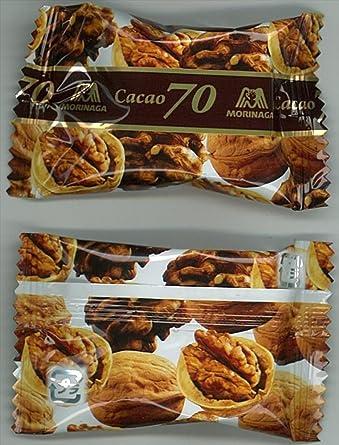 Morinaga piezas de cacao 70X nuez 45gX5: Amazon.es: Alimentación y bebidas