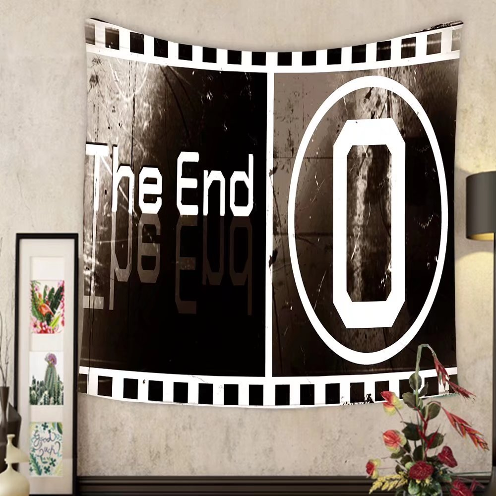 Lee S. Jones Custom tapestry design the ending movie screen images