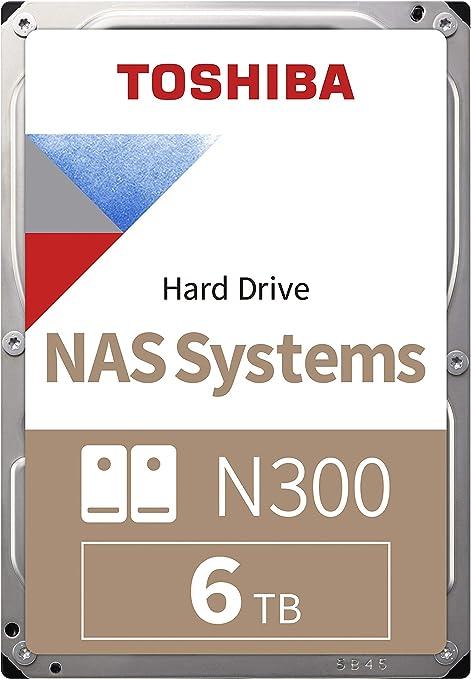 Toshiba HDWN180UZSVA N300 - Disco duro interno (6TB, NAS, 7200RPM ...