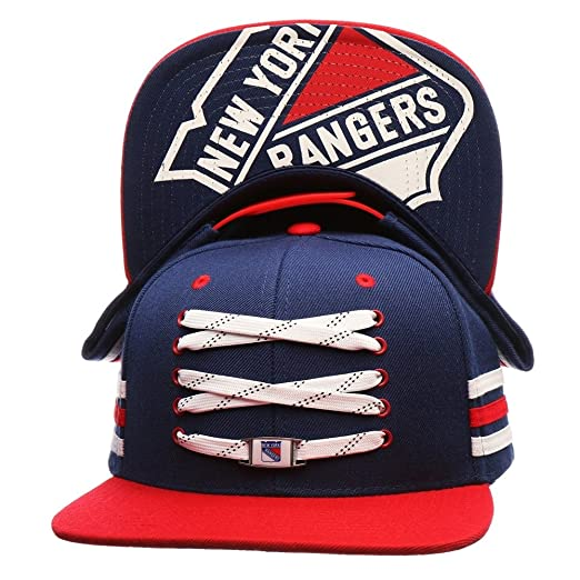 save off ec7fa 4eb03 ... amazon zephyr new york rangers lacer locker room snapback nhl cap  amazon sports outdoors 05249 07b0e