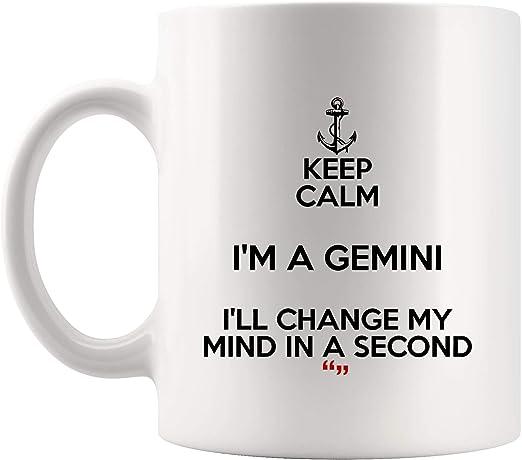 Amazoncom Keep Calm Gemini Change Mind Second Zodiac