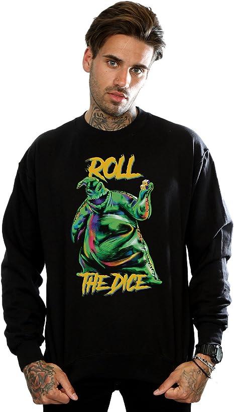 Disney Men's Nightmare Before Christmas Oogie Boogie Dice Sweatshirt