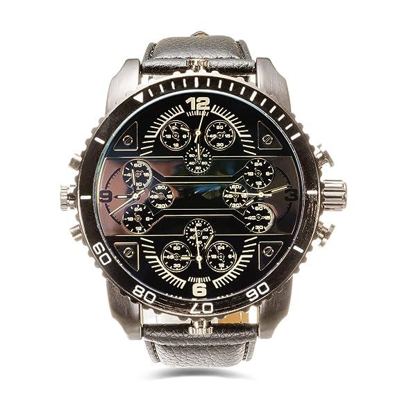 consistenza netta calzature sempre popolare YAKI Cool orologio da polso uomo grandi dimensioni quadrante ...