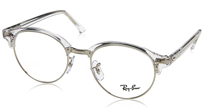 c3e9c3d7244f6 Image Unavailable. Image not available for. Colour  Ray-Ban Unisex RX4246V  - 5751 Eyeglasses Brown Beige Stripped 47mm