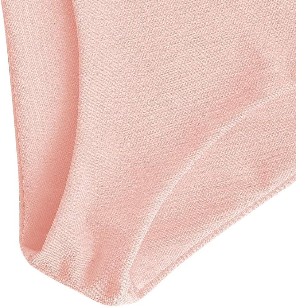 ZAFUL Damen Gepolstert Solide Gerippter Geknoteter Bikini Set Push Up Badeanzug