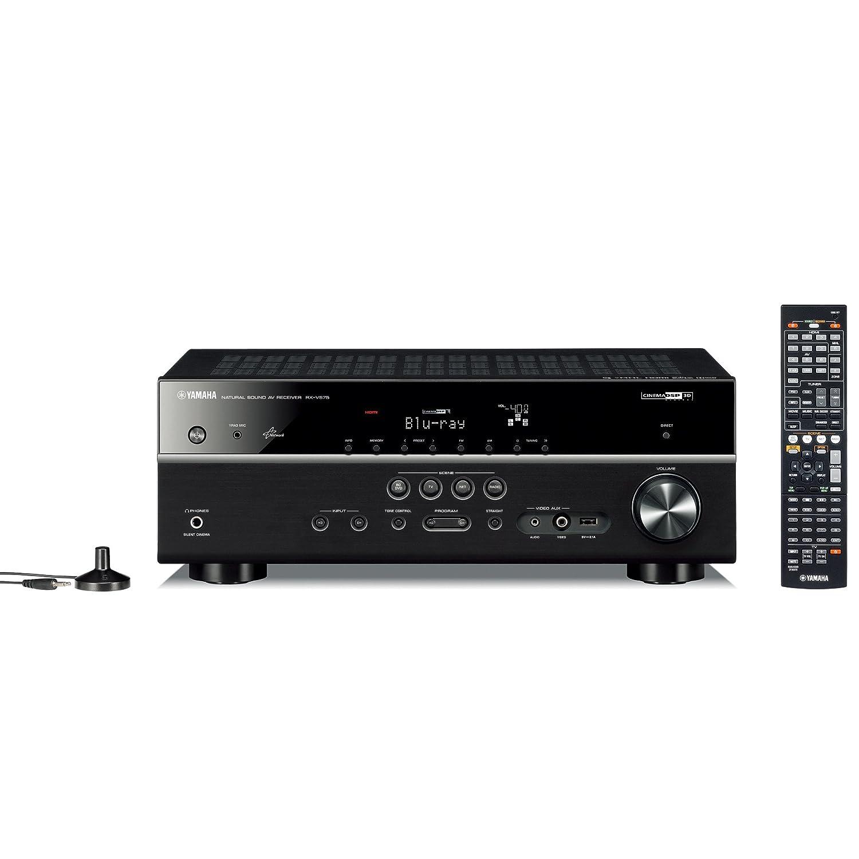 ヤマハ AVレシーバー 7.1ch Airplay/ネットワークオーディオ再生対応 ブラック RX-V575(B) B00BWEU3L4
