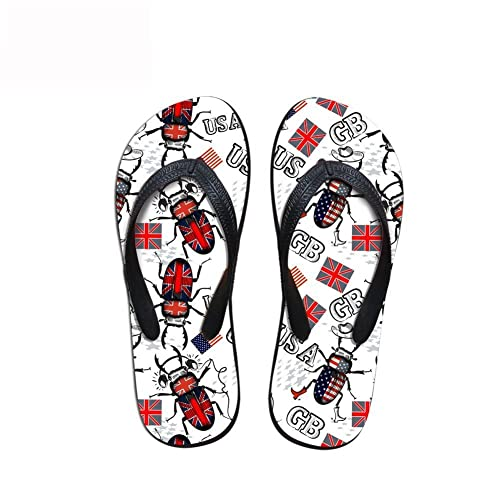 6b7d6075d1e71a Sandals Bottle Opener Yoga Mat Flip Flops for Men Women Thong British  American Flags Wings Beetles  Amazon.ca  Shoes   Handbags