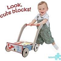 Labebe Chariot Enfant, 2-en-1 Utilisation comme Trotteur Enfant