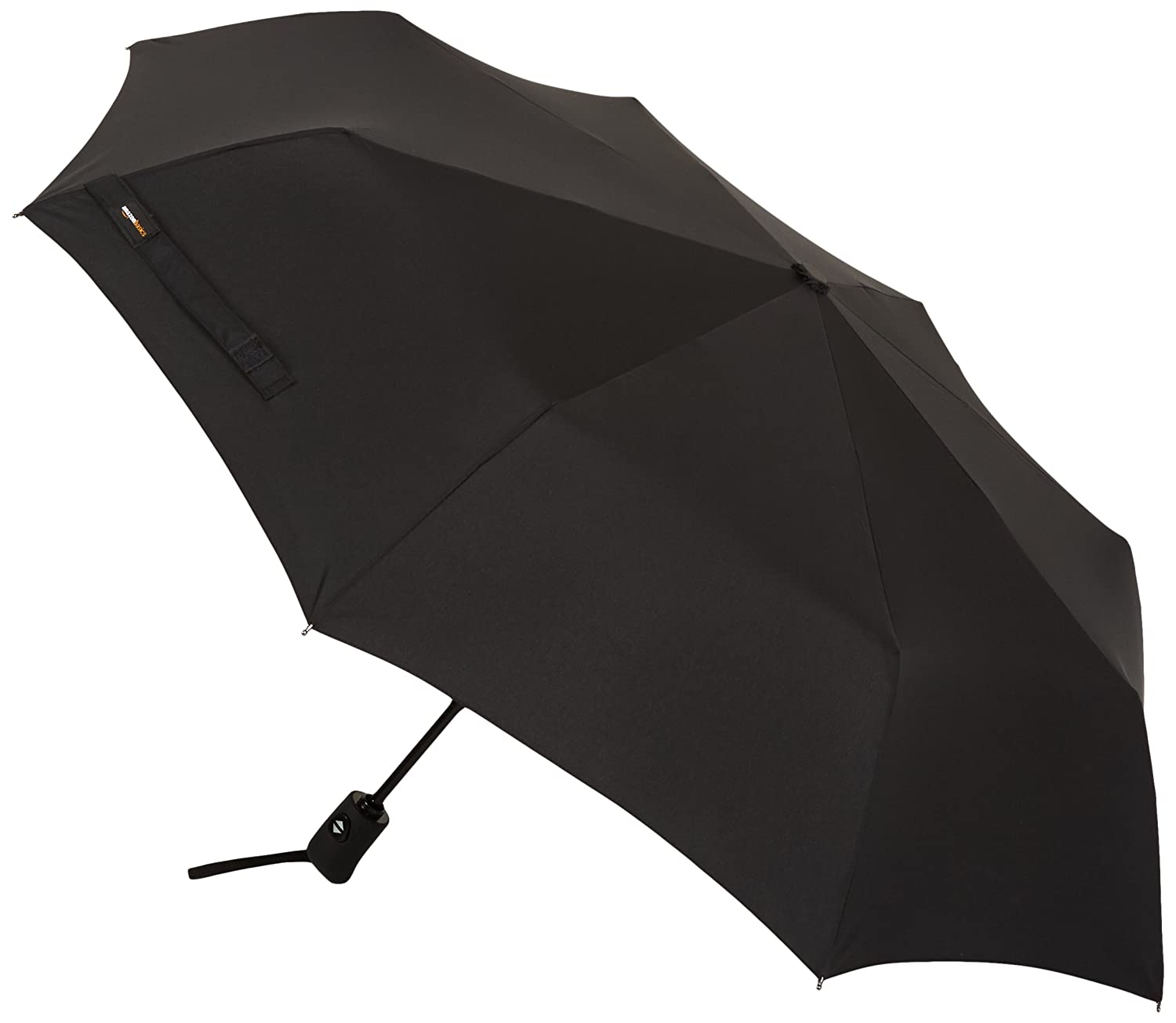 AmazonBasics Automatic Travel Umbrella, Black WXD0319WD