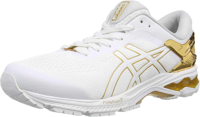 ASICS Gel-Kayano 26 Platinum, Running Shoe para Hombre: Amazon.es: Zapatos y complementos
