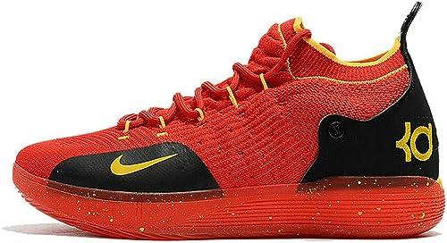 Kevin Durant KD 11 Zoom Red Black Zapatos de Baloncesto para ...